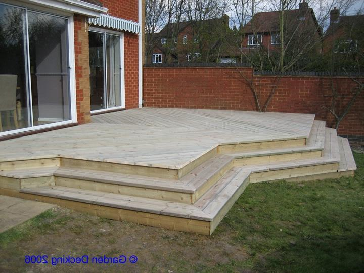 Photos of garden decking for Garden decking companies