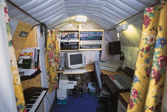 There are a number of problems in setting up a studio in a...