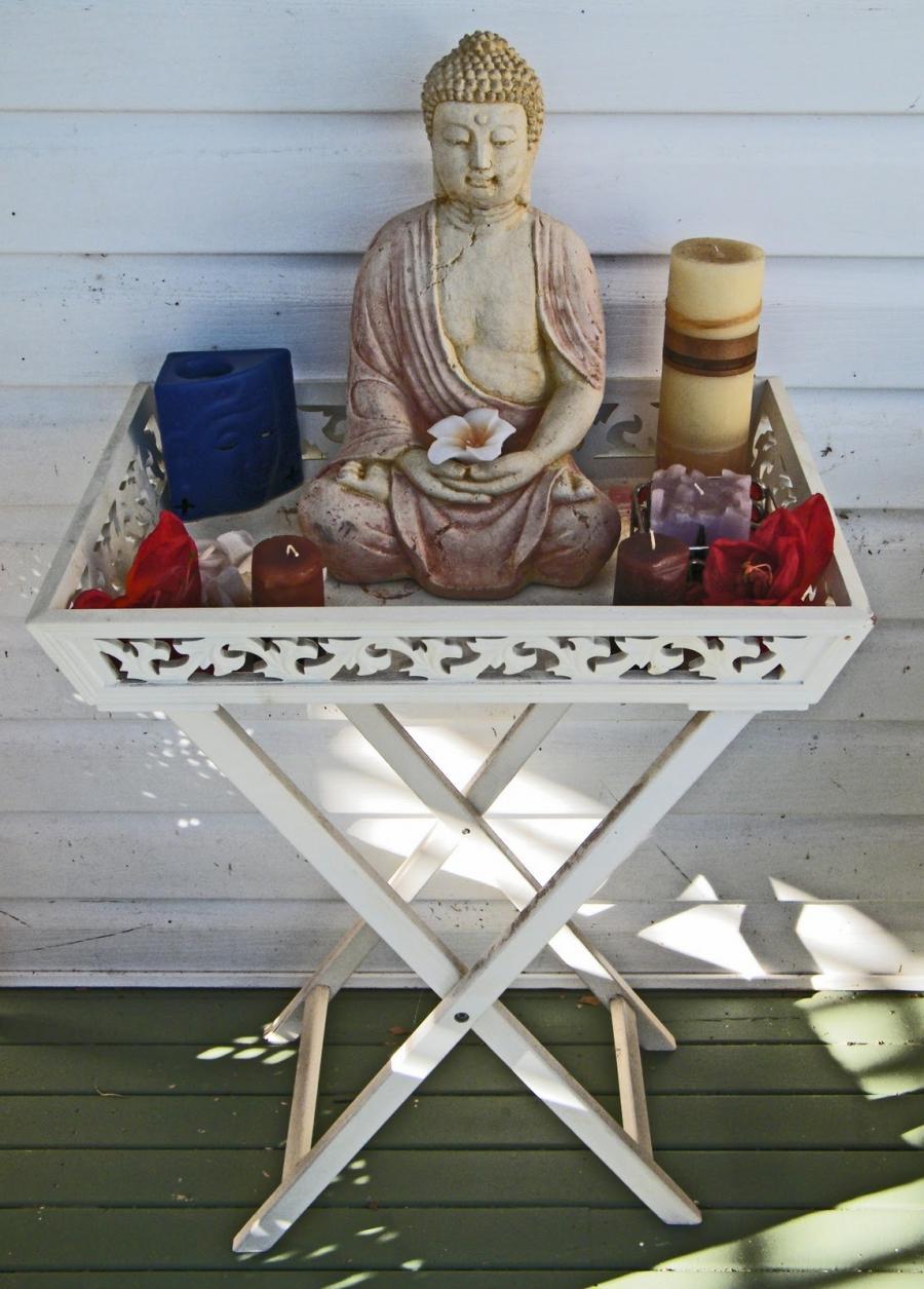 Meditation Photo Room Set Up Zen