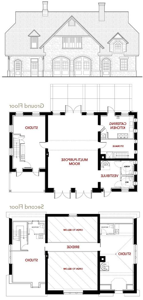 Minimalist contemporary style house plans by titus bernhard minimalist - German House Plans With Photos