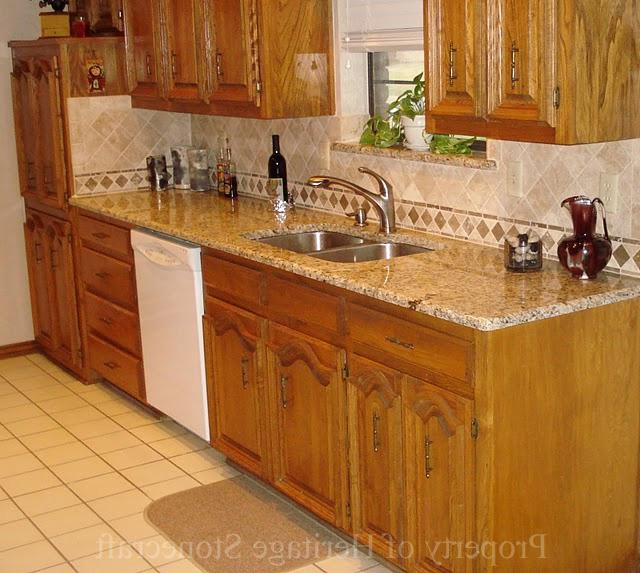 Kitchen Photo New Venetian Gold Granite