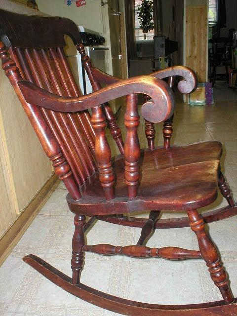 Appraisal Photos Of Antique Rocking Chairs