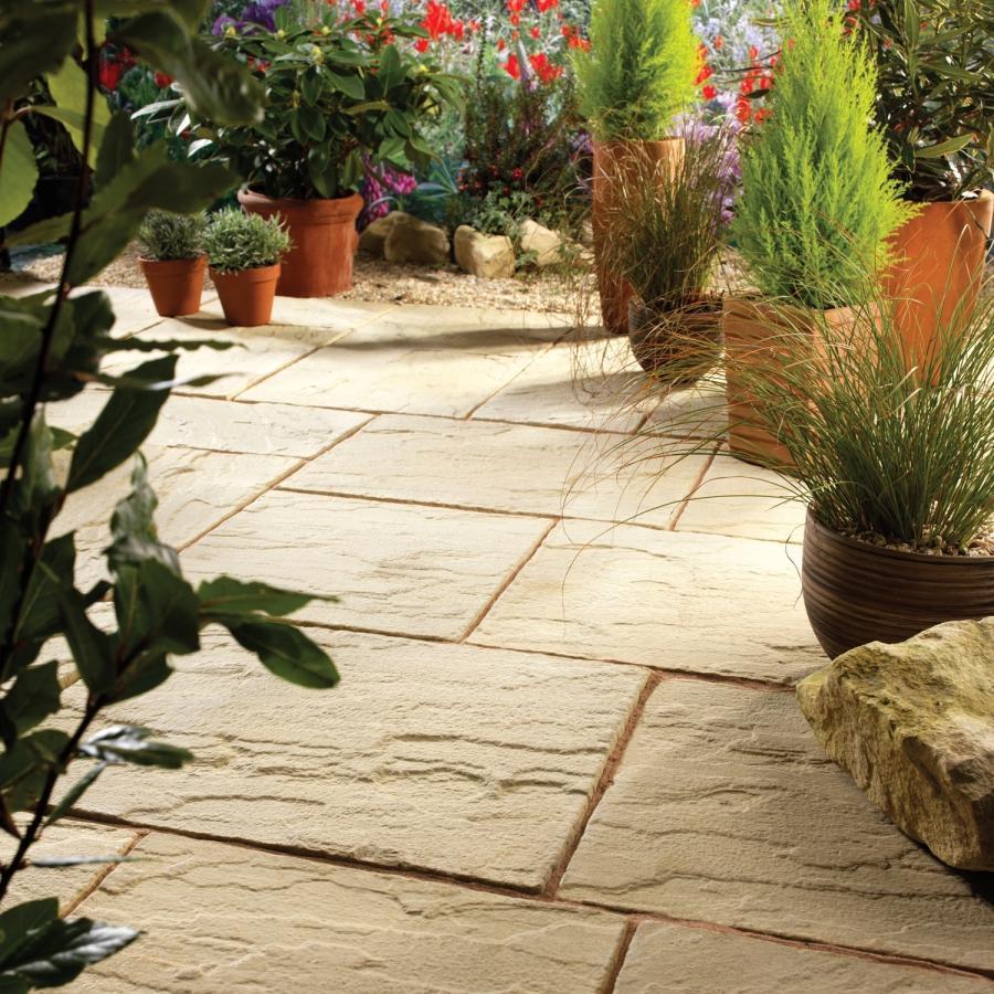 Fairstone Apartments: Garden Paving Photos