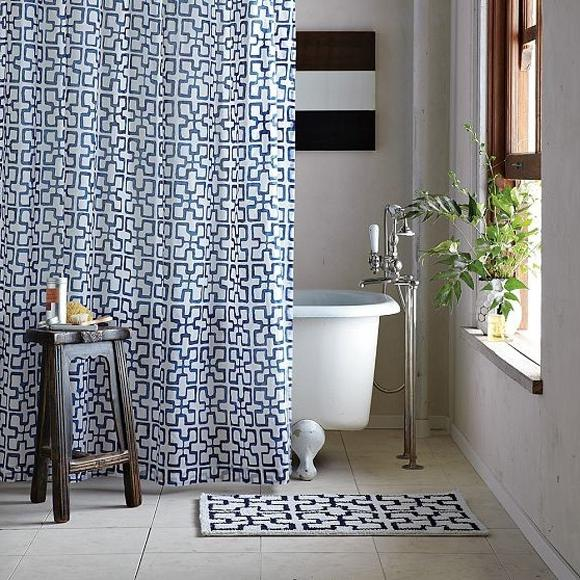 Design Your Own Shower Curtain Photo