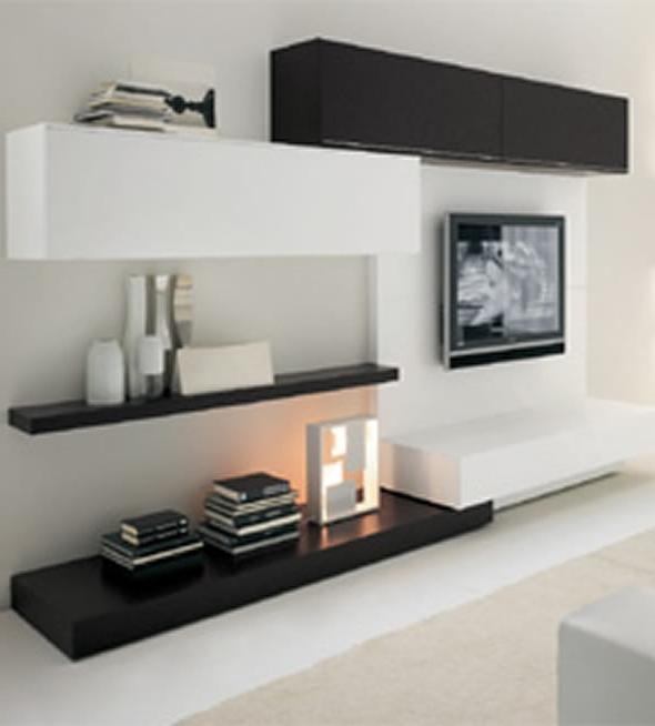 Contemporary Home Interior Wall System Furniture, Oasi Series by...