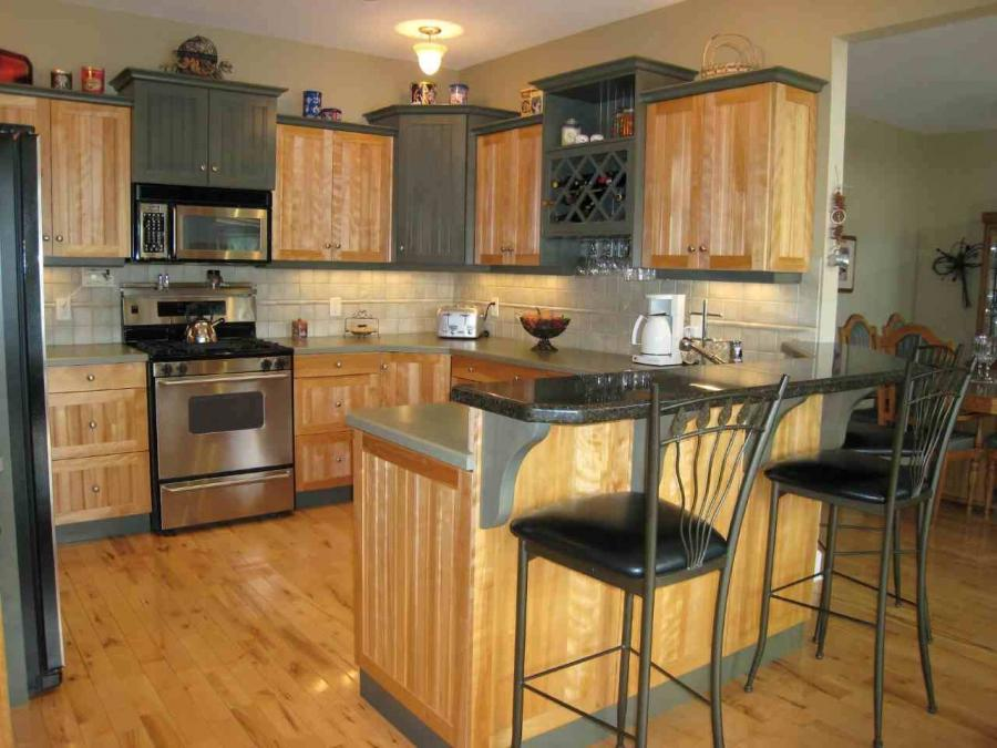 Kitchen cupboard designs photos for Cheap kitchen cupboards