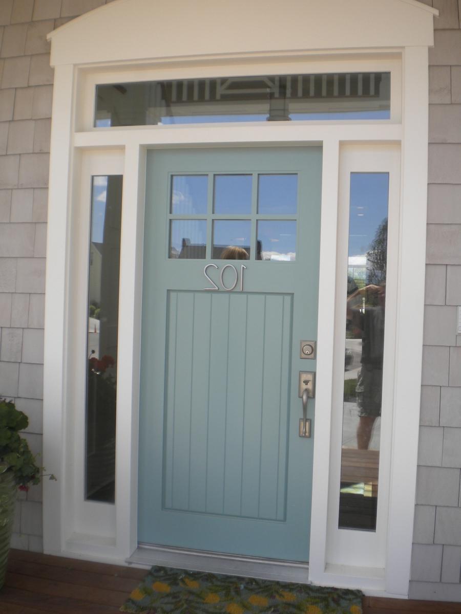 42 Stunning Exterior Home Designs: Front Door Facade Photos