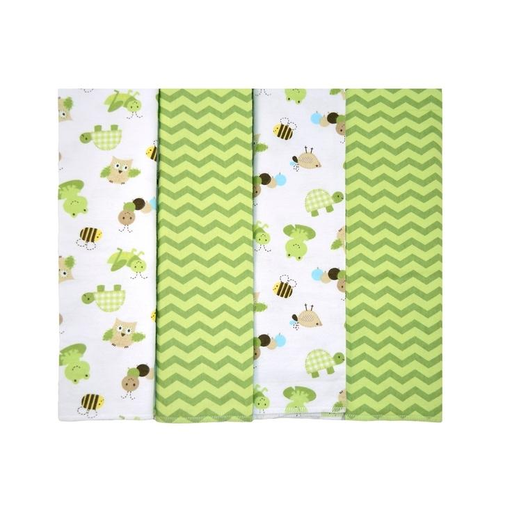 Cuddletime At The Pond Receiving Blankets, 4pk, Nursery | Walmart...