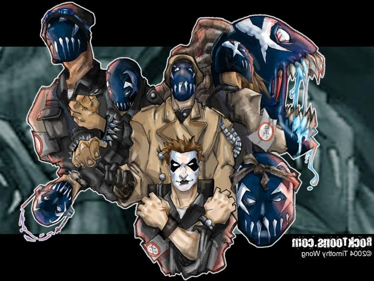 mushroomhead 8 mask disguise picture and wallpaper