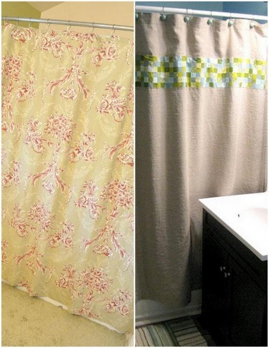 Make Your Own Shower Curtain With Photos