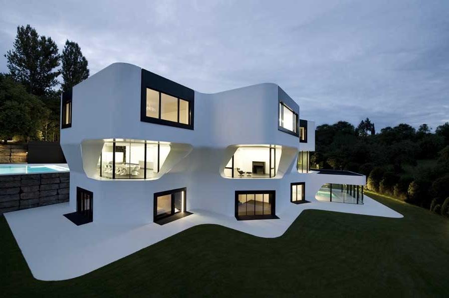Наружный дизайн домов фото