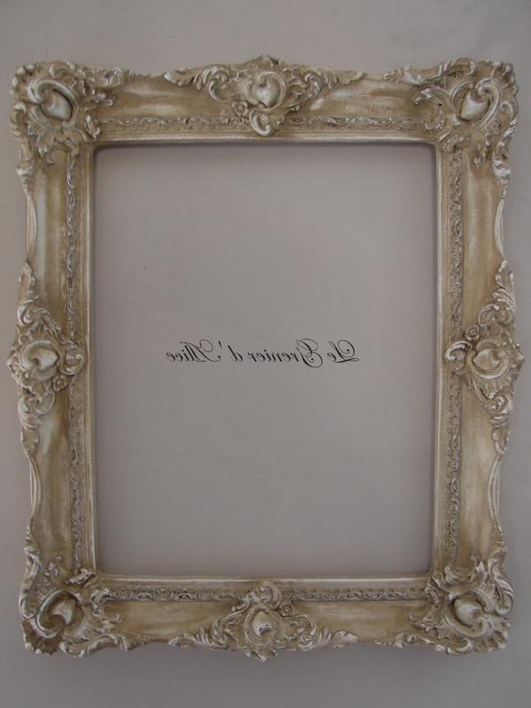 Cadre decoration photo for Decoration shabby romantique