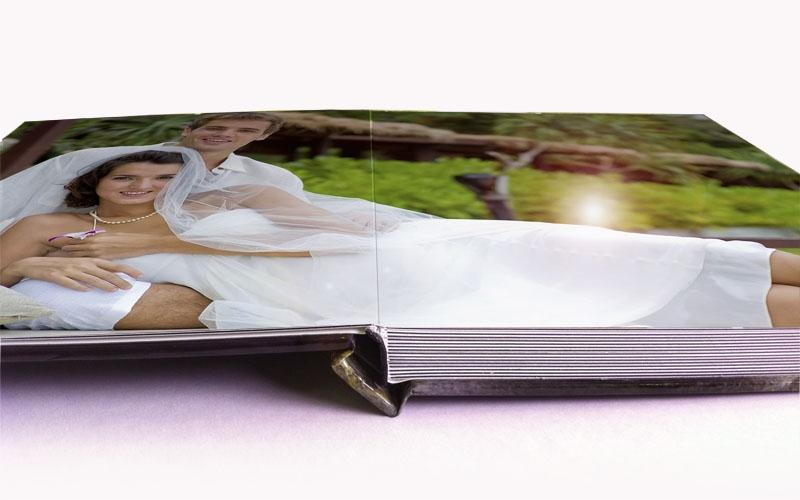 lay flat binding photo books