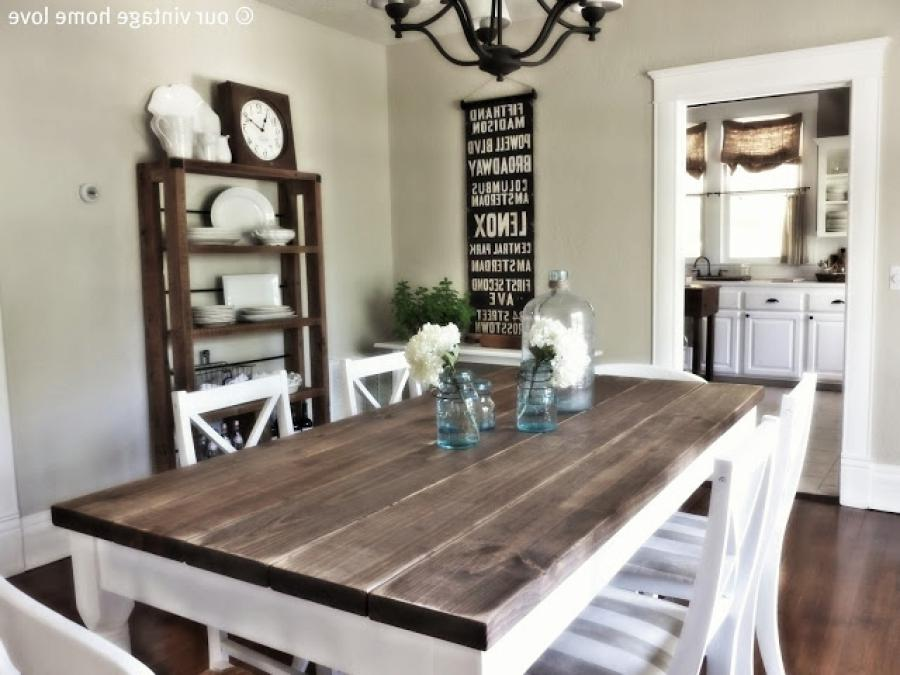 Photos Vintage Dining Room Tables