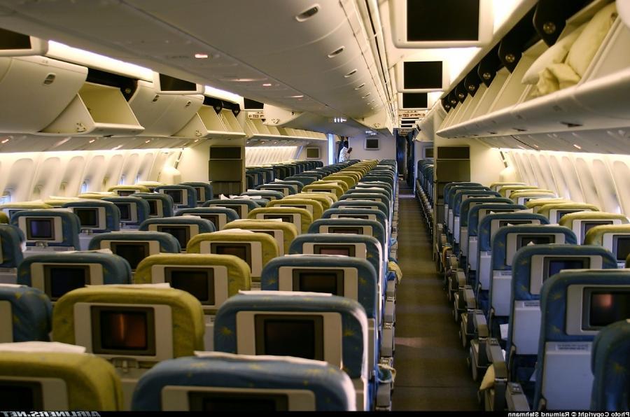 Boeing 767 Interior Photos