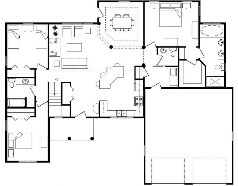 Open Floor House Plans With Photos