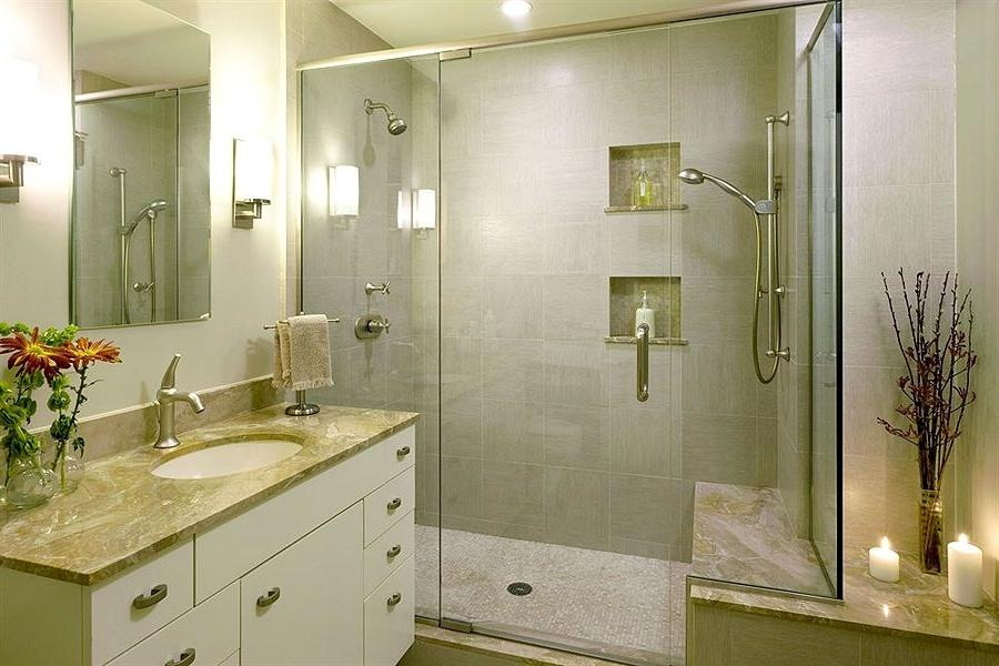 Natural Scheme For Luxurious Bathroom Remodeling Ideas Small...