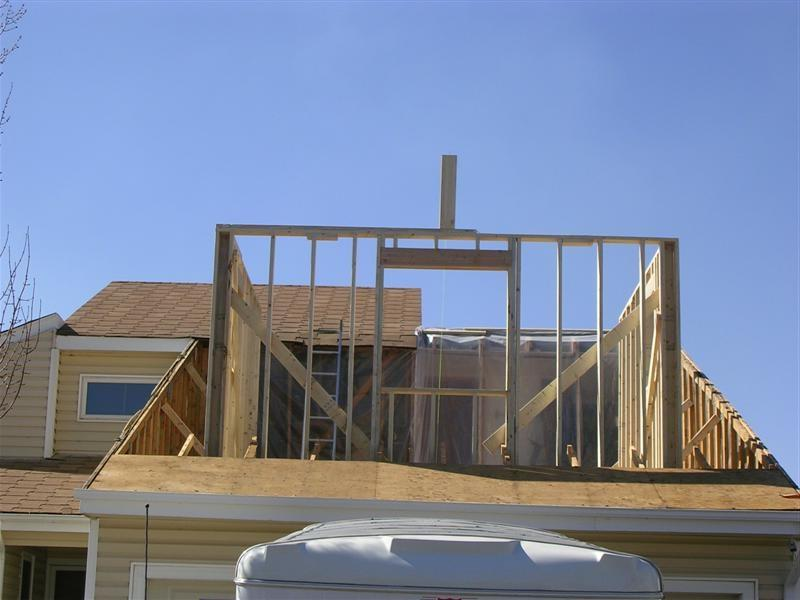 2nd floor additions photos for Framing a second floor addition