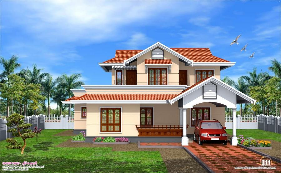 Simple house plans kerala model joy studio design for Simple home model