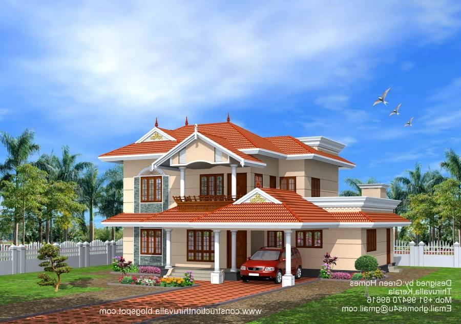 New model houses photos in kerala for New model house photos