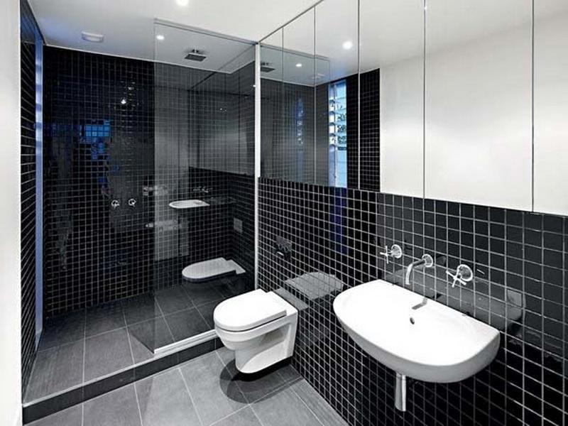 Black And White Tile Designs For Bathrooms