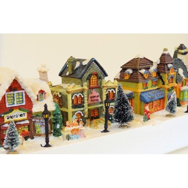 Photo decoration village noel - Decoration de noel pas cher ...