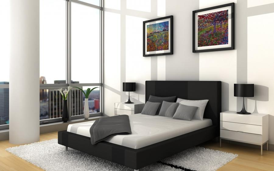Bedroom Interior Design Wallpaper u2013 Beautiful bedroom...