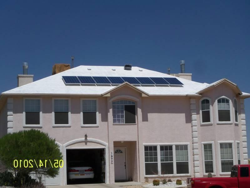 antrey 1.84kW PV and White Roof