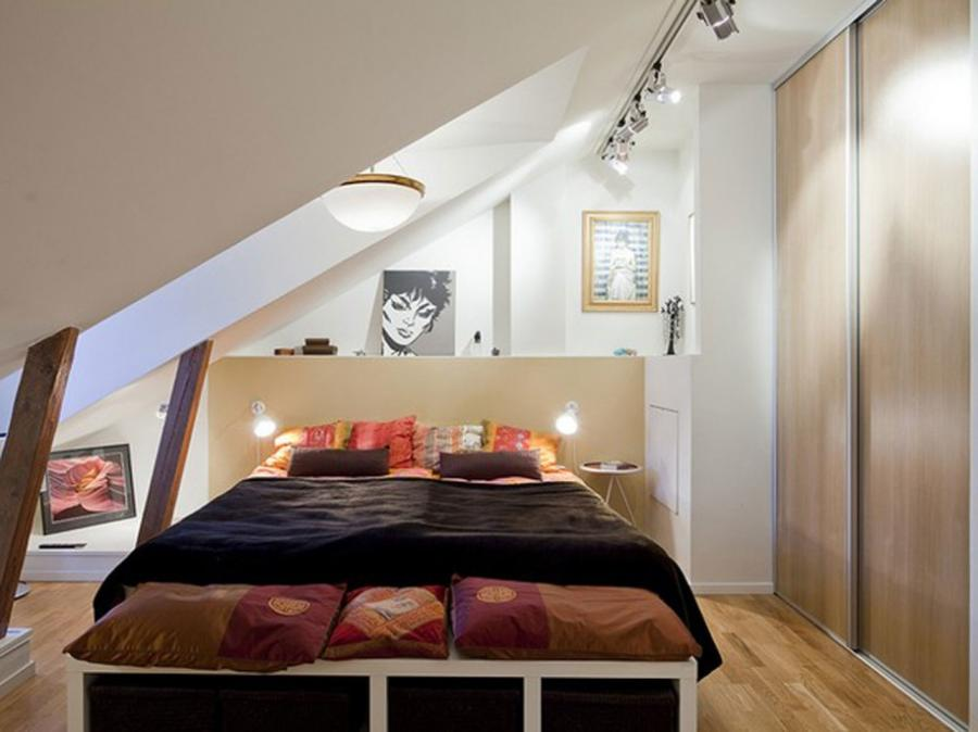 Pleasant Idea For Luxurious How To Decorate Attic Bedroom With...