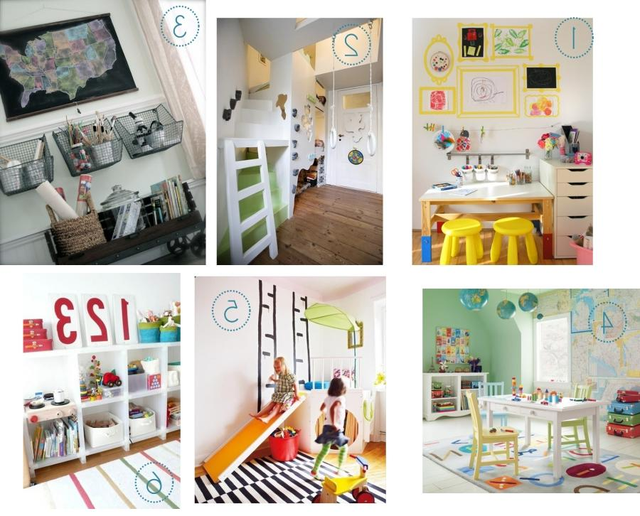 Children S And Kids Room Ideas Designs Inspiration: Playroom Inspiration Photos