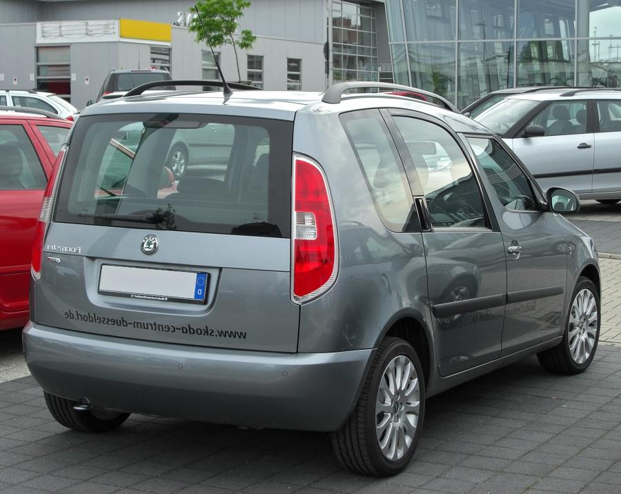 Skoda Roomster Facelift 1.2 TSI Comfort Plus Edition rear...
