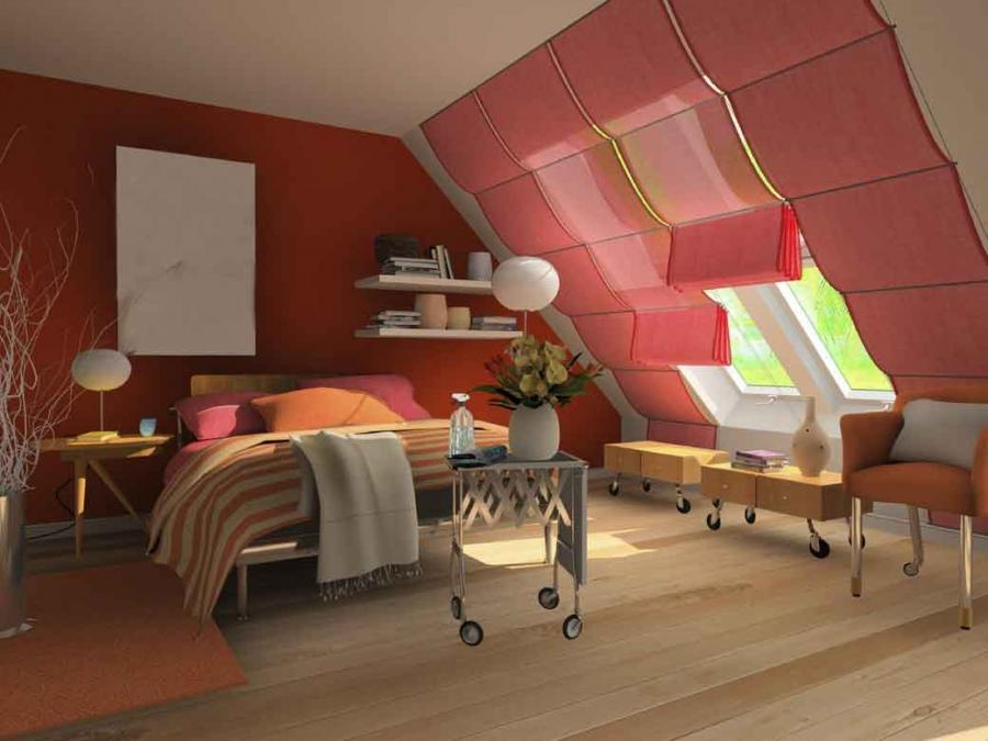 Home Interior, How to Create Your Attic Bedroom: Attic Bedroom...