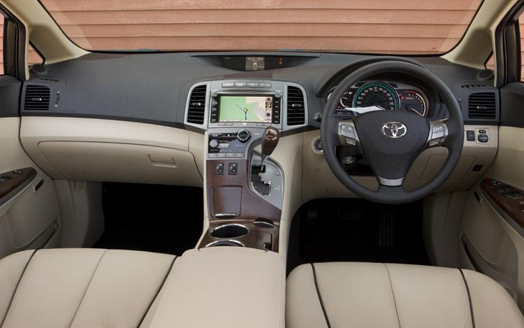 Toyota Venza Interior Photos