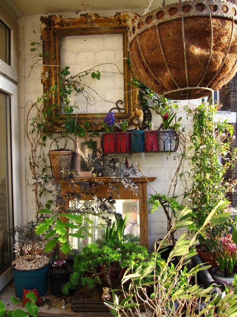 ... condo balcony garden design ideas ...