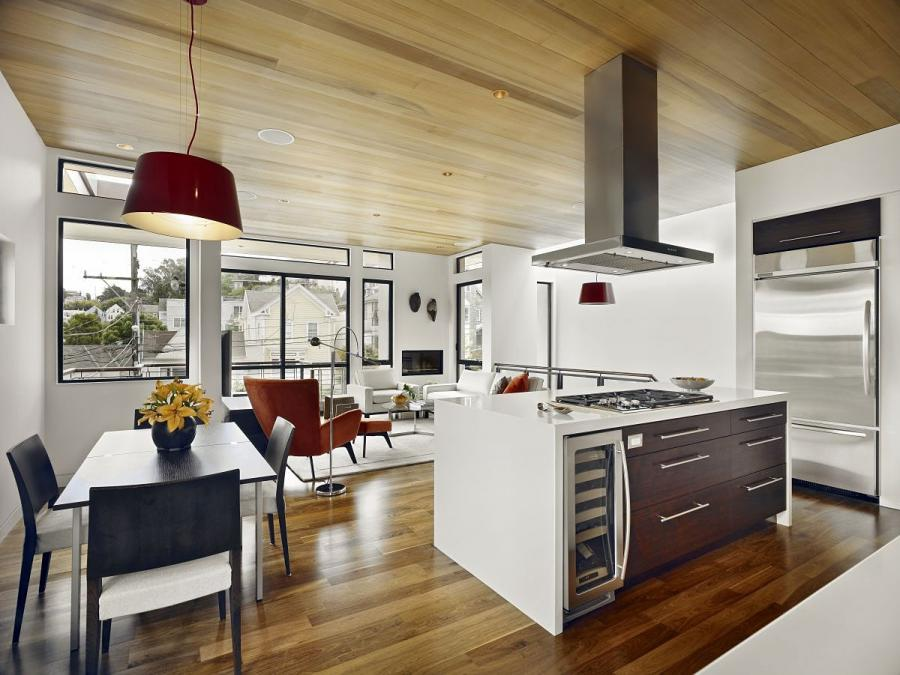 ... san francisco bernal heights house minimalist modern kitchen...