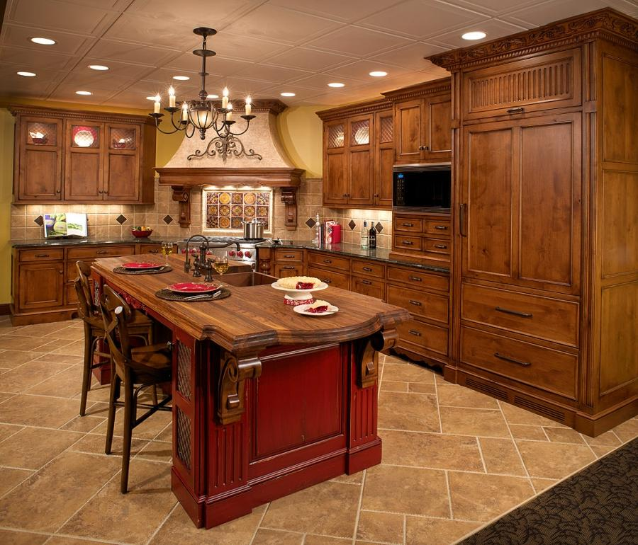 Kitchen Designs Photo Gallery: Tuscan Kitchen Designs Photo Gallery
