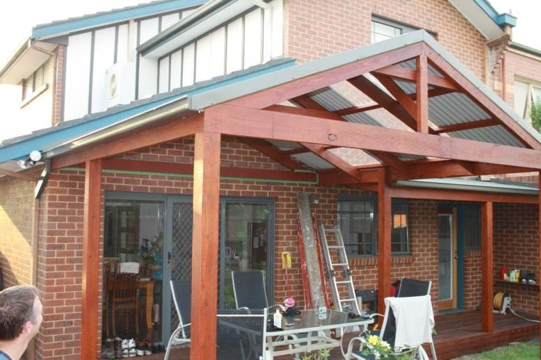 Roof Design Ideas: Pitched Roof Pergola Photos