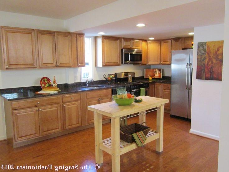 Staged kitchens photos for Kitchen staging ideas