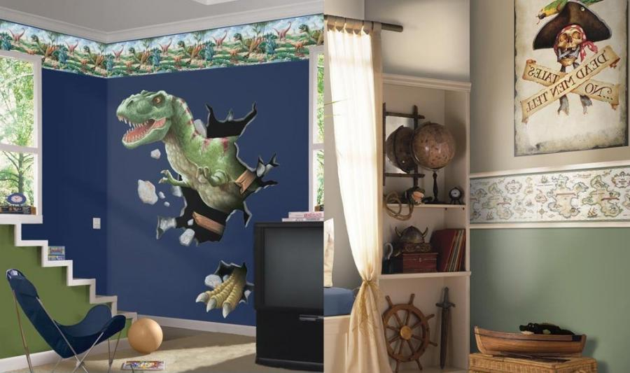 Kids rooms theme photos - Boys room dinosaur decor ideas ...