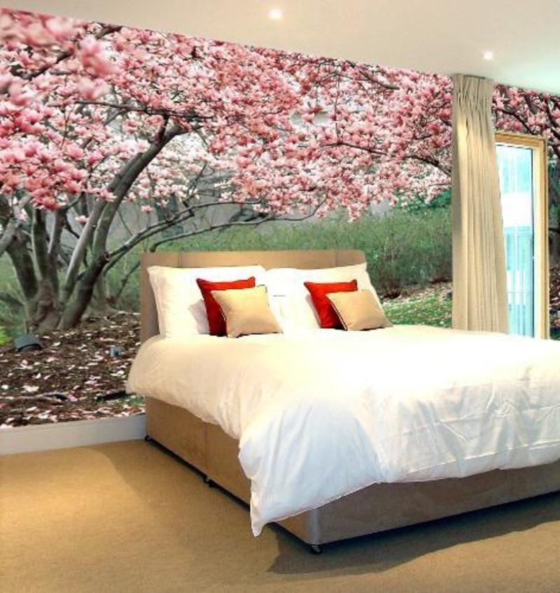 Дизайн комнаты сакура фото