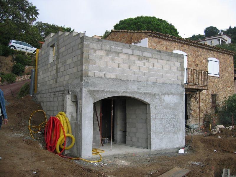 Photos Construction Pool House