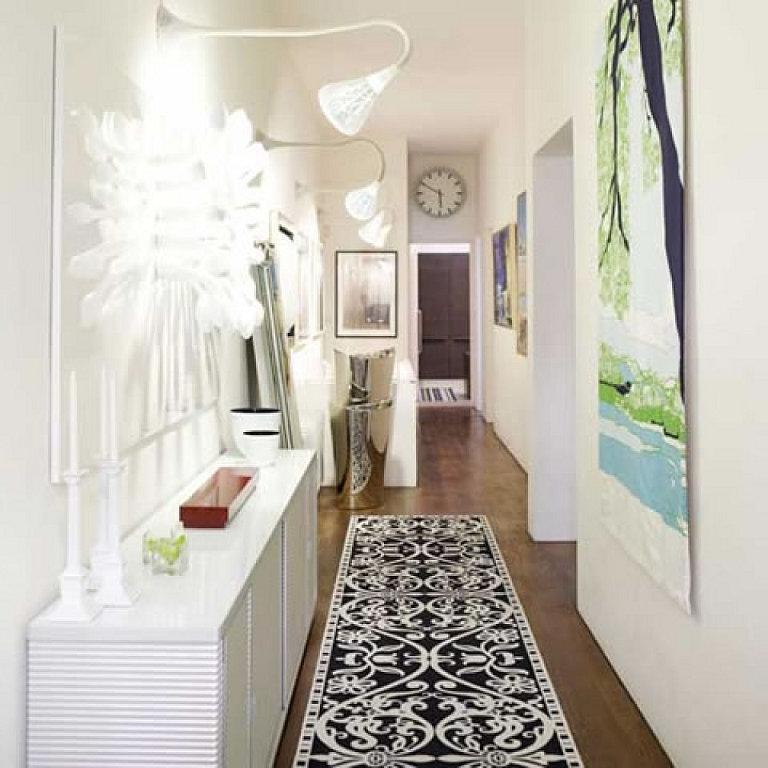 Keep in mind while buying rug for hallway that color of rug must...