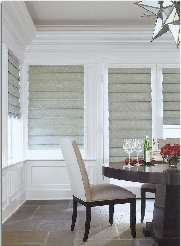 French door Roman Shades Roman Shades for French Doors Window...