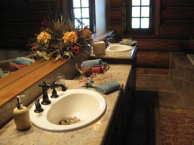 Photos decorator cabin bathrooms for Bathroom remodel 10k
