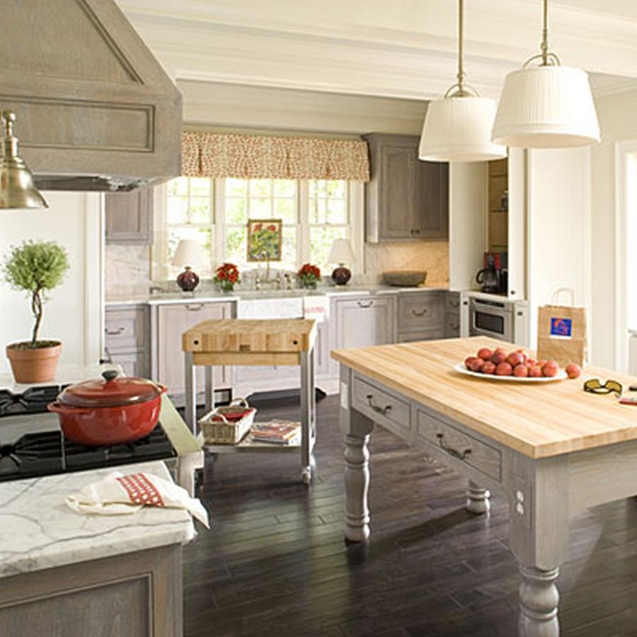20 Charming Cottage Style Kitchen Decors: Modern Cottage Kitchen Photos