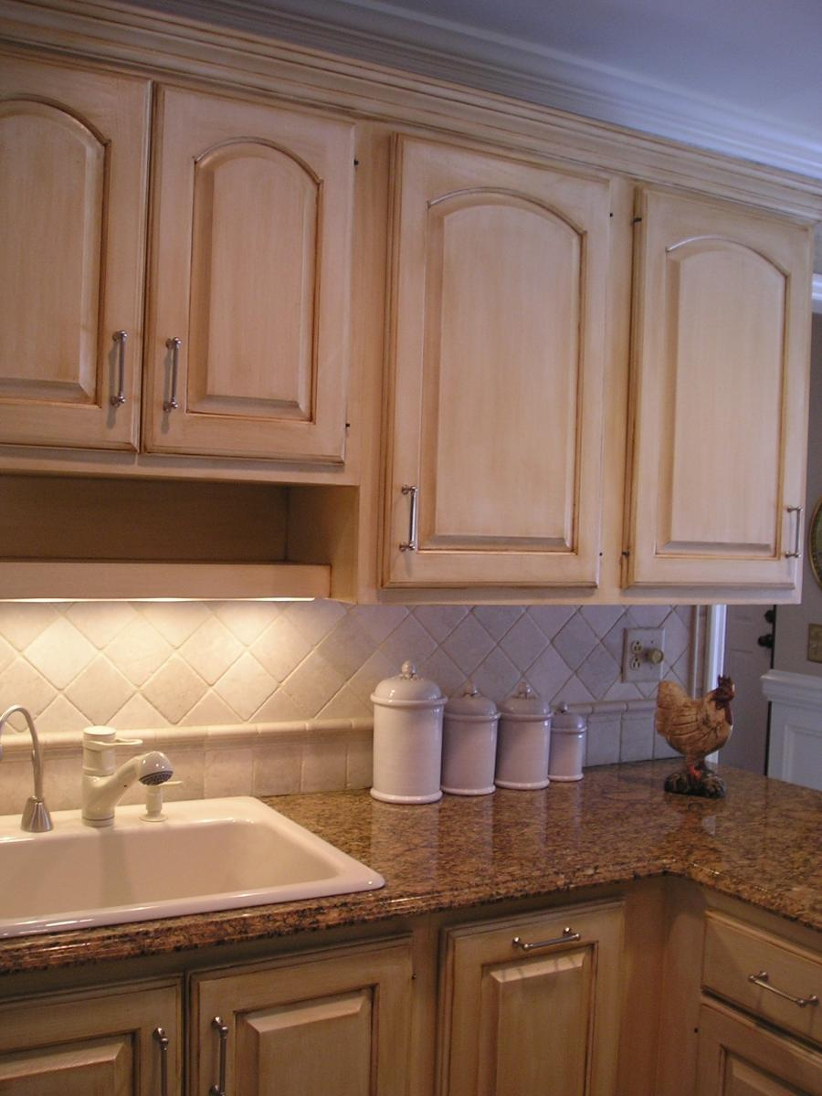 Photos Glazed Oak Cabinets