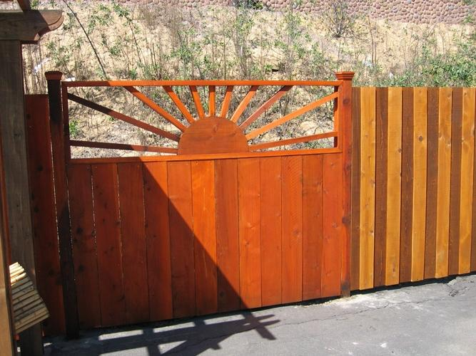 Cedar Fence Design Photos