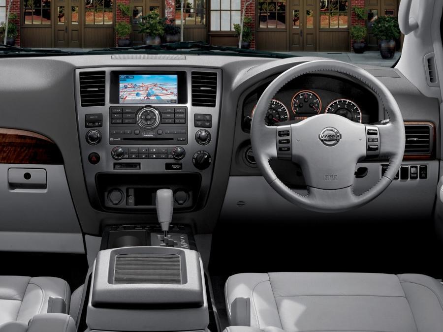 Nissan Armada Photos Interior