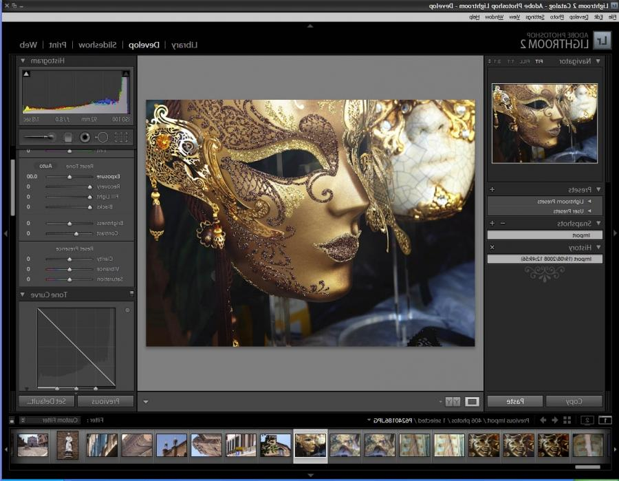 Adobe lightroom photo processing software review
