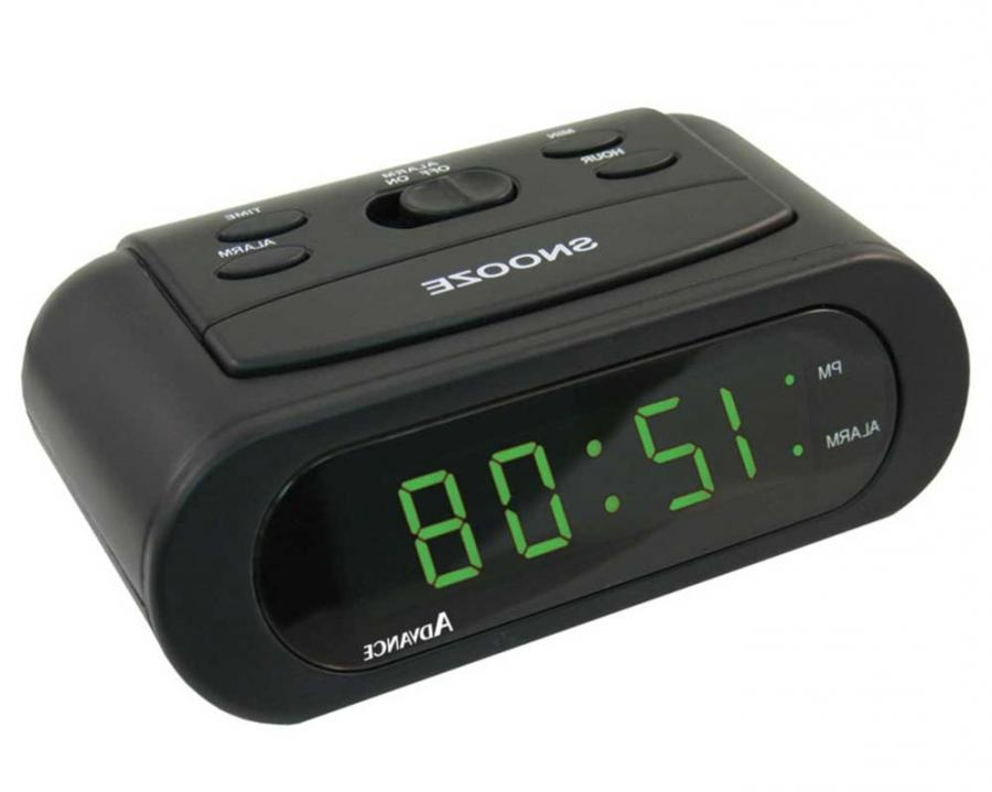 Advance Time Technology 6 Inch Green LED Battery Operated Alarm...